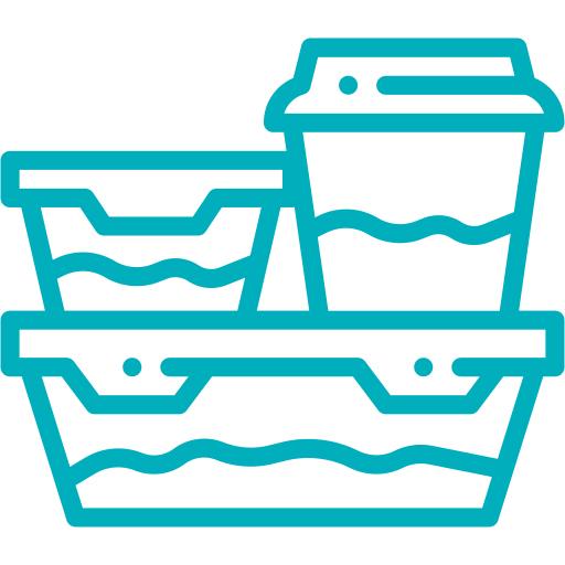 Productos hechos de reciclaje